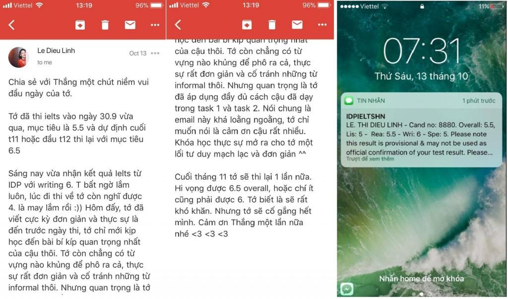 writing le dieu linh w online